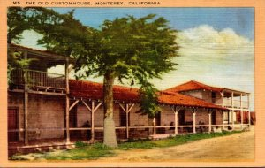 California Monterey The Old Customhouse