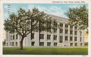 Oklahoma Lawton Comanche County Court House 1943