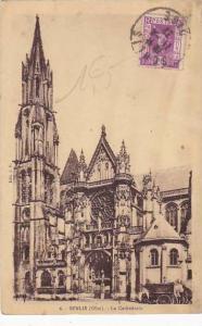 France Senlis La Cathedrale 1931