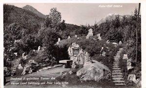 Denkmal f Gefallene Turner des Gaues Land Salzburg Austria Unused