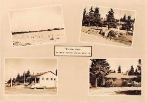 Hunts Point Nova Scotia Canada Tuna Inn Real Photo Antique Postcard J51824