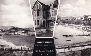 Happy Valley Christian Guest Holiday Home Llandudno Postcard