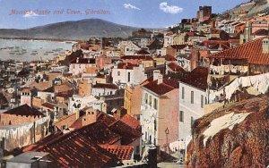 Moorish Castle and Town Gibraltar Unused