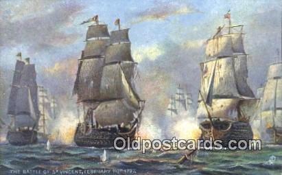 Battle Of St Vincent Sailboat Unused