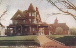 Illinois Rock Island Residence Of Senator L S McCabe 1909