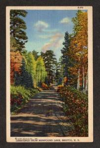 NH Greetings from Newfound Lake BRISTOL NEW HAMPSHIRE
