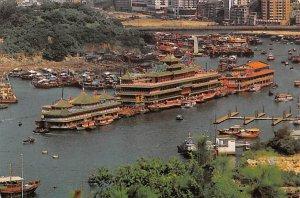 Floating Restaurants Aberdeen Hong Kong Unused