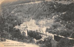 B106473 France Chaley Ain La Grille, Manufacture de Toiles