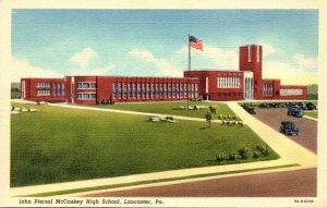 Pennsylvania Lancaster John Piersol McCaskey High School Curteich