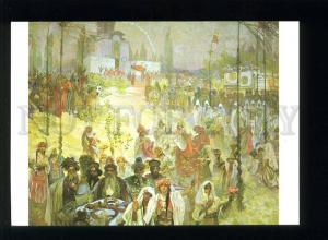 208442 CZECH Alfons Mucha Stepan Dusan old postcard