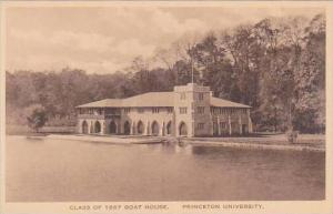 New Jersey Princeton Class Of 1887 Boat House Princeton University Albertype