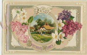 WINSCH BIRTHDAY Booklet  , 1912 ; Flowers & Farm, Farm inside