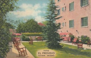 TUCSON , Arizona , 1942 ; Patio , EL PRESIDIO