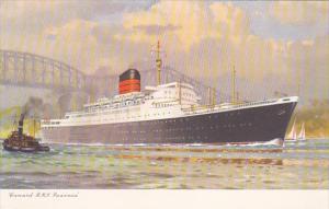 Cunard RMS Saxonia 1900-20s