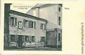 04858  CARTOLINA d'Epoca: TREVISO - RIESE