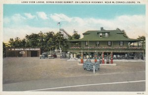 LINCOLN HIGHWAY ; McConnellsburg , Pennsylvania , 1910s ; Long View Lodge & G...