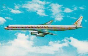 World Airways DC-8 Stretch Intercontinental Jetliner
