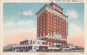 North Carolina Asheville Battery Park Hotel 1926