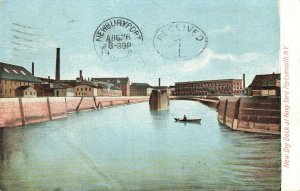 Postcard New Dry Dock at Navy Yard, Portsmouth, New York ME6.