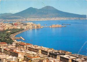 Italy Napoli Panorama e Golfo General view