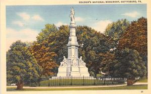 Civil War Post Card Old Vintage Antique Postcard Soldiers' National Monu...