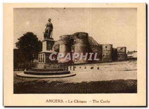 Angers Old Postcard the castle