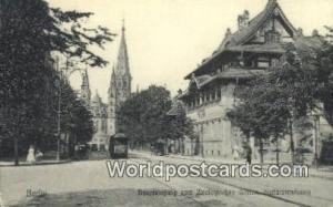 Berlin Germany, Deutschland Postcard Haupteingang zum Zoologischen Garten  Ha...