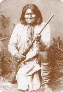 Apache Indian Chief Geronimo Old West Collectors Series