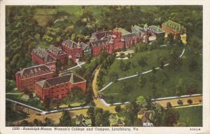 Randolph-Macon Woman's College and Campus, Lynchburg, Virginia, PU-1942