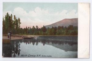 North Conway NH Echo Lake Leighton UDB ca 1907