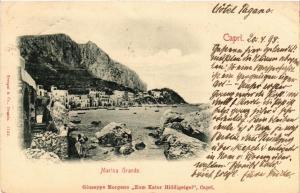 CPA Capri Marina Grande. ITALY (526894)