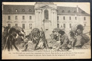 Mint France Real Picture Postcard RPPC WW1 German Camp parvis Square