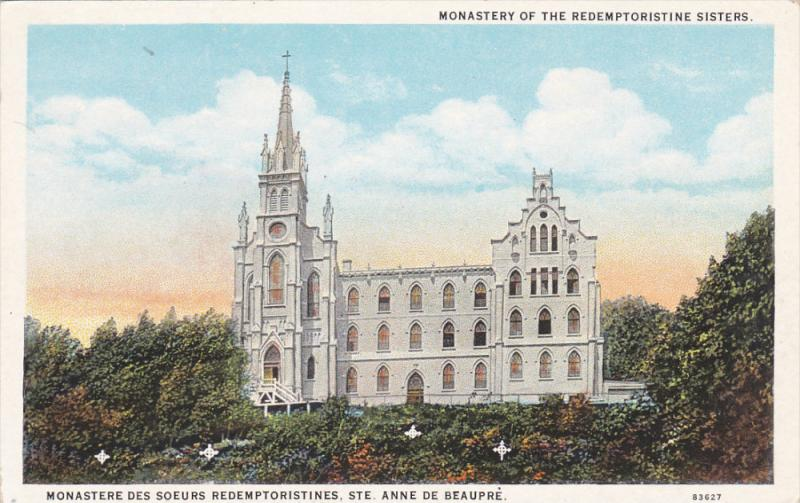 Monastery Of The Redemptoristine Sisters, STE. ANNE DE BEAUPRE (Quebec), Cana...