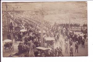 Real Photo, Parade, Bamford Falls, Maine, 1906, Used in Yarmouth Nova Scotia ...