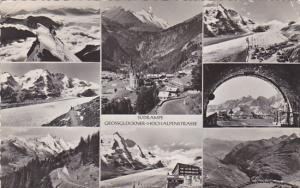 Austria Suedrampe Grossglockner-Hochalpenst rasse Multi View Real Photo