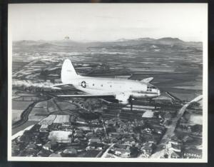 U.S. AIR FORCE CURTISS C-46 AVIATION FIGHTER JET REAL PHOTO PHOTOGRAPH PLANE