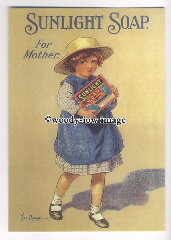 ad0445 - Sunlight Soap - Lever Brothers - For Mother - Modern Advert Postcard