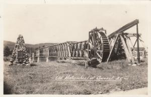 RP, Old Waterwheel, Quesnel, British Columbia, Canada, 1920-1940s