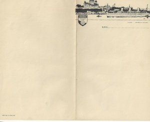 CANADIAN PACIFIC Steamship Lines, Empress of Britain, Stationary, 1930s