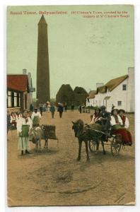 Round Tower Ballymaclinton M'Clinton's Town Soap Makers Ireland postcard