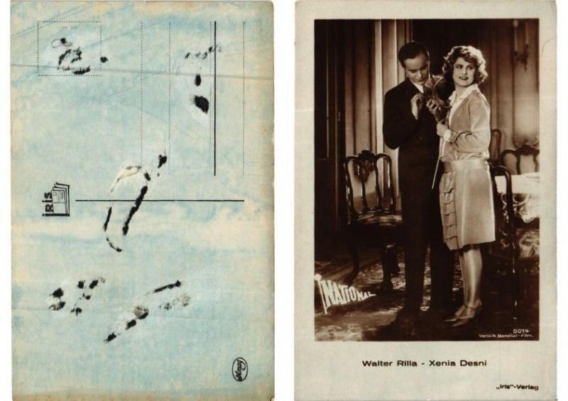 CPA AK Walter Rilla Xenia Desni Iris-Verlag 5014 FILM STAR (595604)