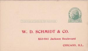 Advertising Clothing W D Schmidt & Co Chicago Illinois