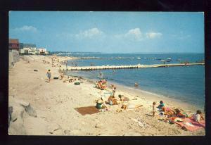 Niantic, Connecticut/CT/Conn Postcard, Black Point Beach, Long Island Sound