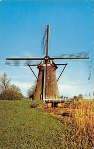 Netherlands Muhle Windmill Moule