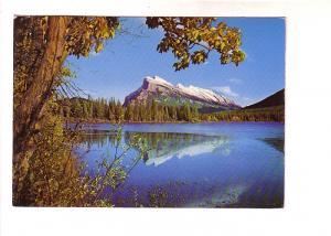 Mount Rundle, Banff, Alberta Canadian Rockies, Byron Harmon