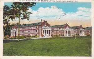 Dormitories, St. Mary's-on-the-Lake, Mundelein, Illinois, PU-1926