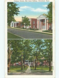 Linen Bob Jones College - Greenville South Carolina SC E1880
