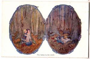 The babes in the wood by H. Willebeek Le Mair