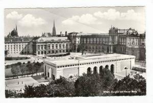 RP  Wien, Austria , Burgtor mit Neuer Burg, PU 1960