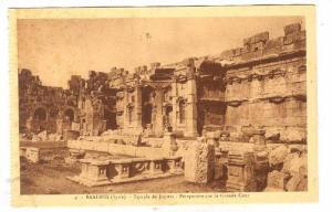 BAALBEK (Syrie), now Lebanon, 1910-30s ;  Temple de Jupiter